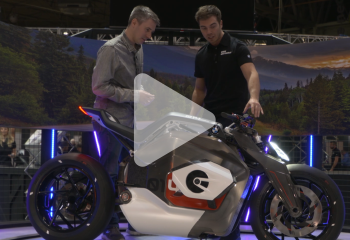 Motor Cycle Live BMW Concept Electric Bike