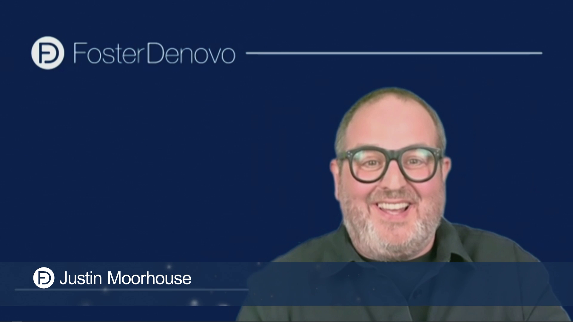 Foster Denovo Awards Comedy Introduction by Justin Moorhouse
